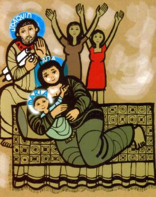 Hoy, 8 de septiembre, es el cumpleaños de la Virgen.