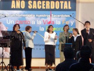 FESTIVAL A LOS SACERDOTES - AREQUIPA