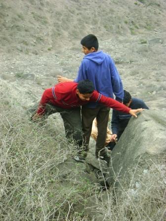 Caminata a las Lomas de Lúcumo