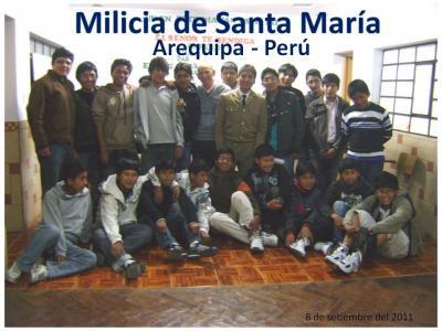 Los de Arequipa en un día de la Virgen